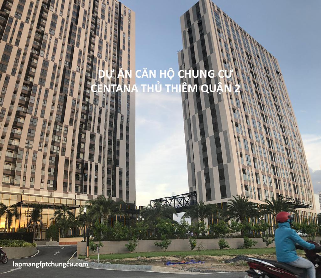 Dự án căn hộ chung cư Centana Thủ Thiêm Quận 2