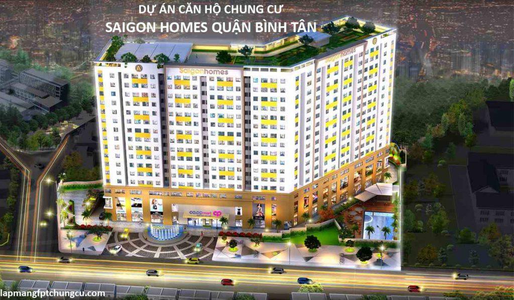 Căn Hộ Chung Cư Saigon Homes Quận Bình Tân