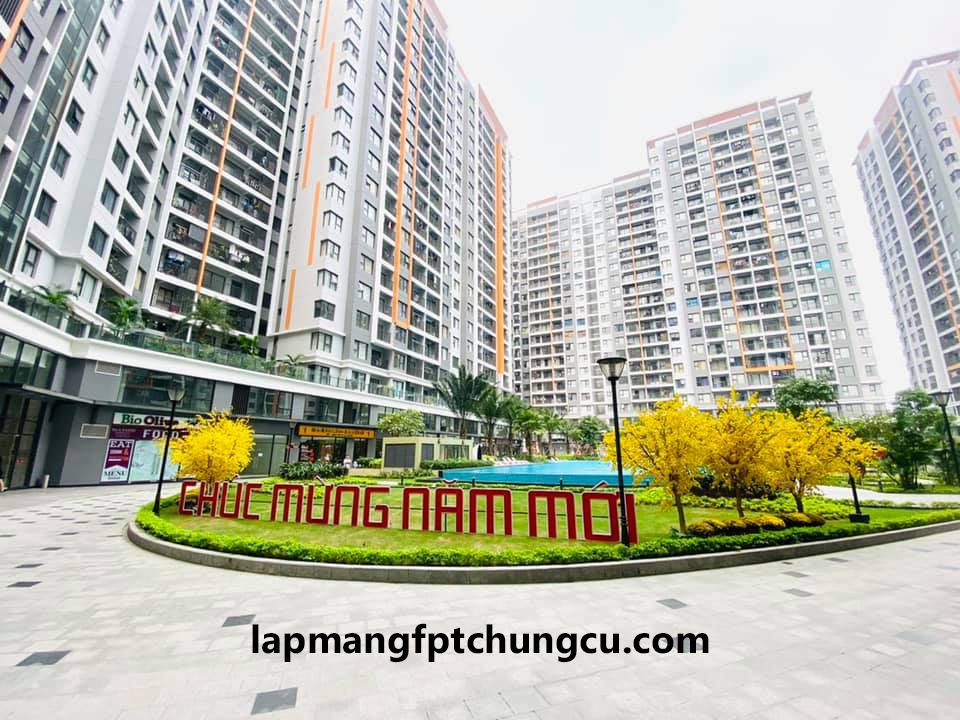 Lắp Mạng FPT tại chung cư Safira Khang Điền Quận 9