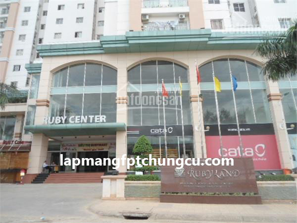 Lắp Mạng FPT Chung Cư Rubyland Quận Tân Phú