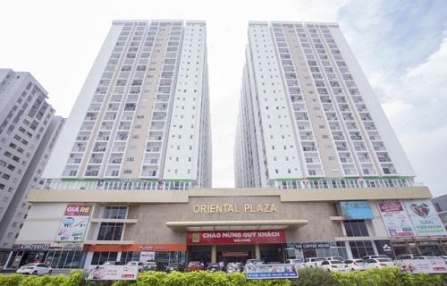 Dự án căn hộ chung cư Oriental Plaza Quận 4